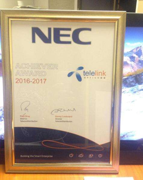 Achiever Award