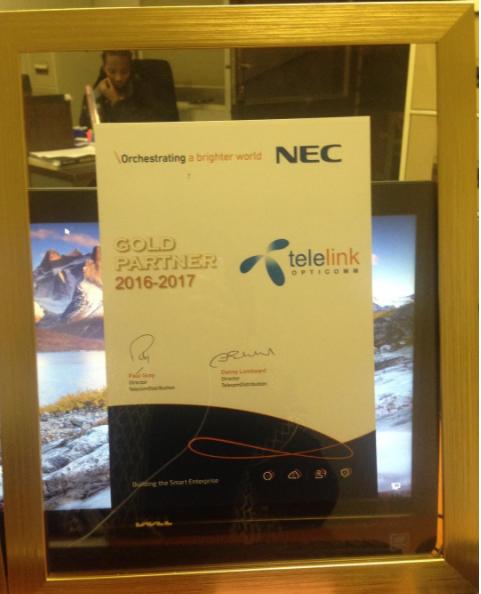 NEC Gold Partner
